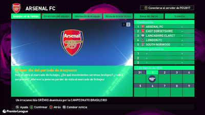 PES 2017 Premier League Graphic Theme 2017 v2 by Fauda