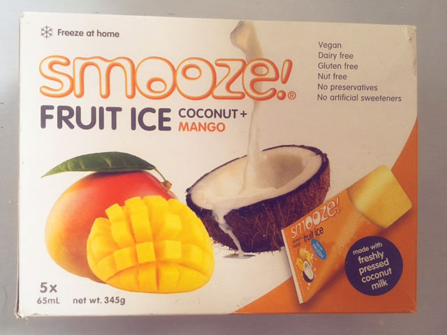 Coconut fruit ice