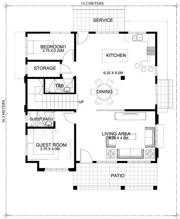 Exceptional SECOND FLOOR PLAN
