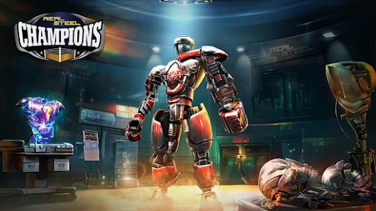 Real Steel Boxing Champions MOD APK v1.0.356 Unlimited Currencies