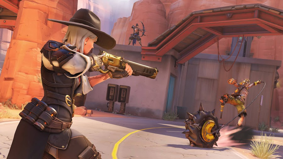 ashe overwatch hero route 66