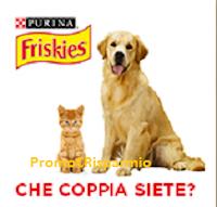 Logo Che coppia siete? Vinci gratis forniture per cane e gatto