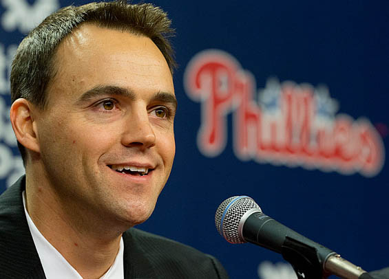 Matt Klentak ready as the Phillies prepare for busy week ahead