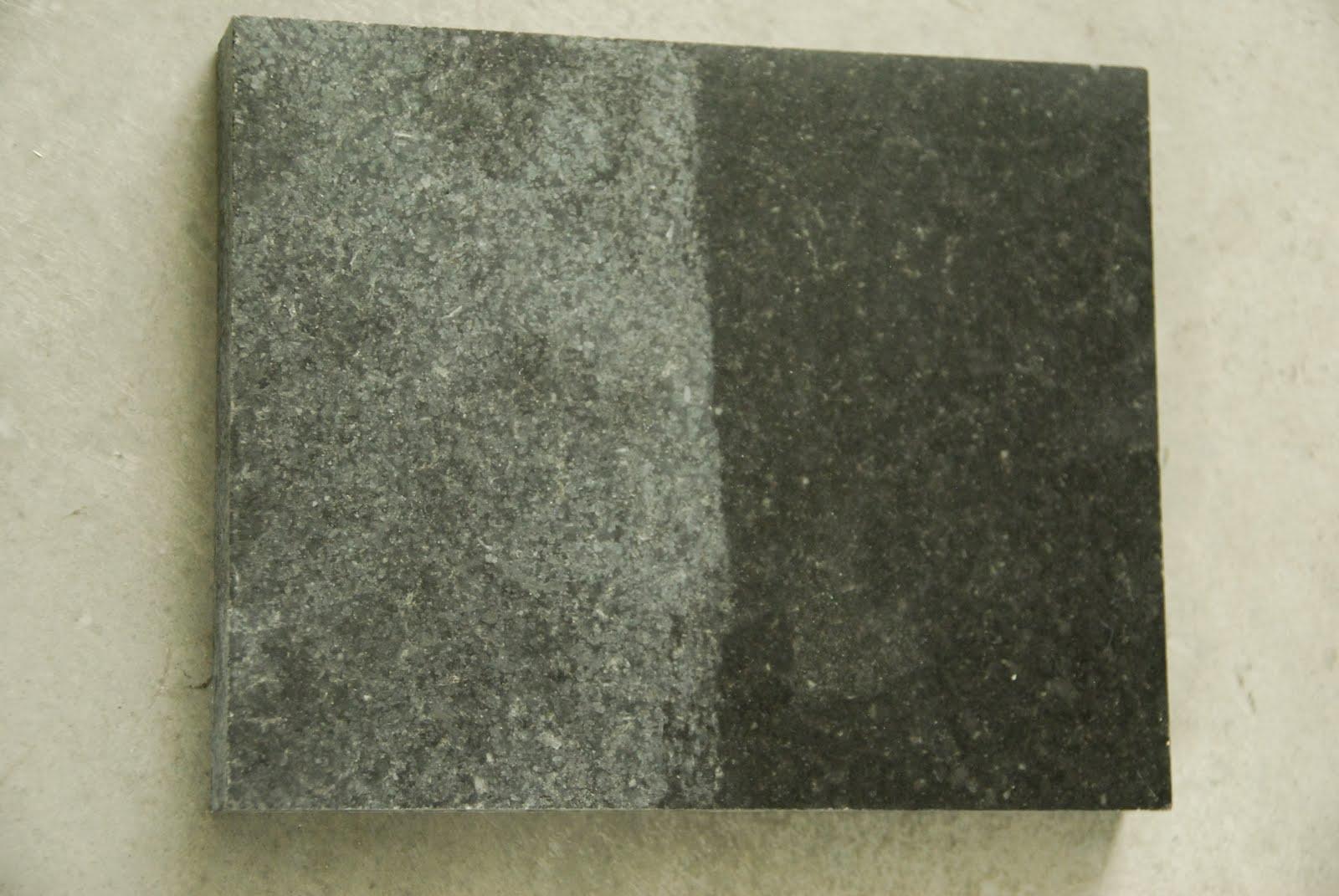 The Granite Gurus The Power Of Color Enhancing Sealer On
