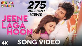 Download Jeene Laga Hoon - Ramaiya Vastavaiya Full HD Video