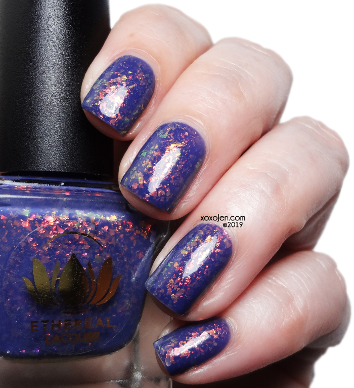 xoxoJen's swatch of Ethereal Lacquer: Moonlit Mist