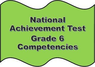 NAT competencies for Grade 6