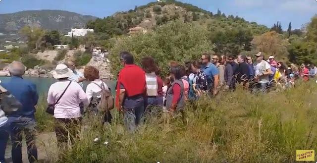 """Πρασινες Πολιτιστικές Διαδρομές στην Αρχαία Ασίνη: """"Το Καστράκι"""" και η περιήγηση της Κυριακής (βίντεο)"""