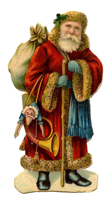 12 Days of Christmas Traditions ~ St Nicholas or Santa Claus?