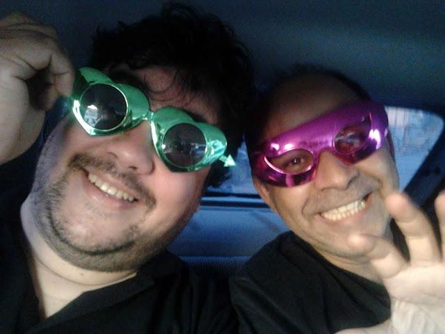 Capitão Gay e seu ajudante, Carlos Sueli... Ops, é o Tabajara e o Oazem!