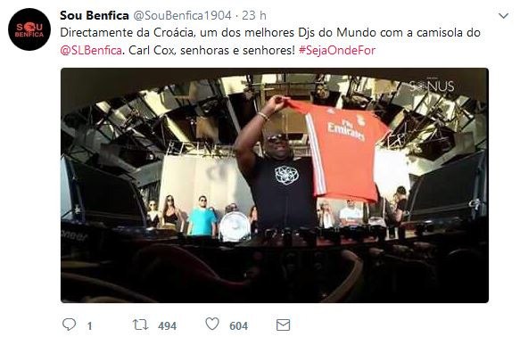 Poço sem fundo o orçamento do marketing do Benfica