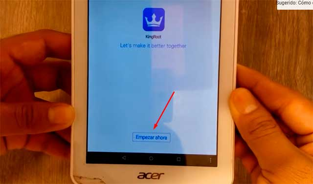 Como ser root en Acer Iconia 7 android 5.1
