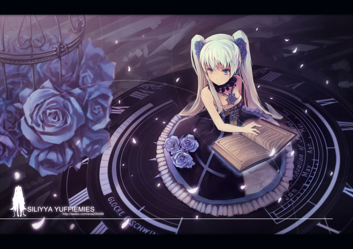 Cute Purple Girly Wallpapers Anime Girls Anime Wallpapers Book