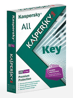 License key of All Kaspersky Products