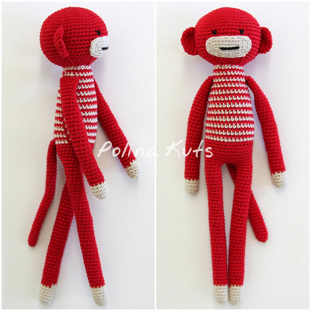 Amigurumi Monkey-Free Pattern