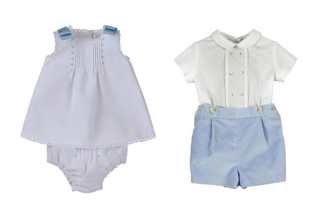 814111a97d6a4 Moda infantil española para niños y niñas 100% adorable  Las ideas de  patito  Vistiendo a los bebés en su bautizo