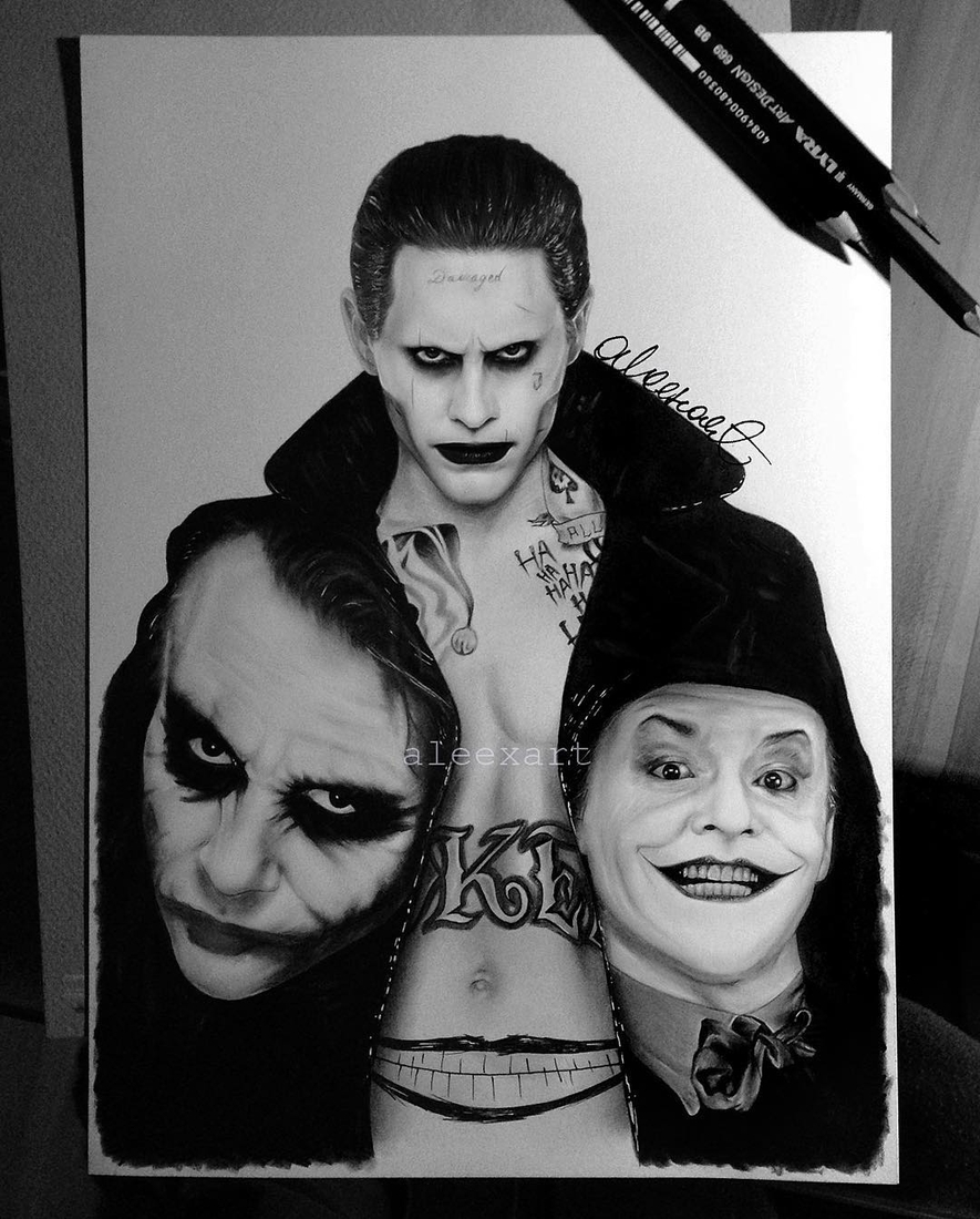 03-Joker-Family-Alex-Manole-Black-and-White-Hyper-Realistic-Portraits-of-Celebrities-www-designstack-co