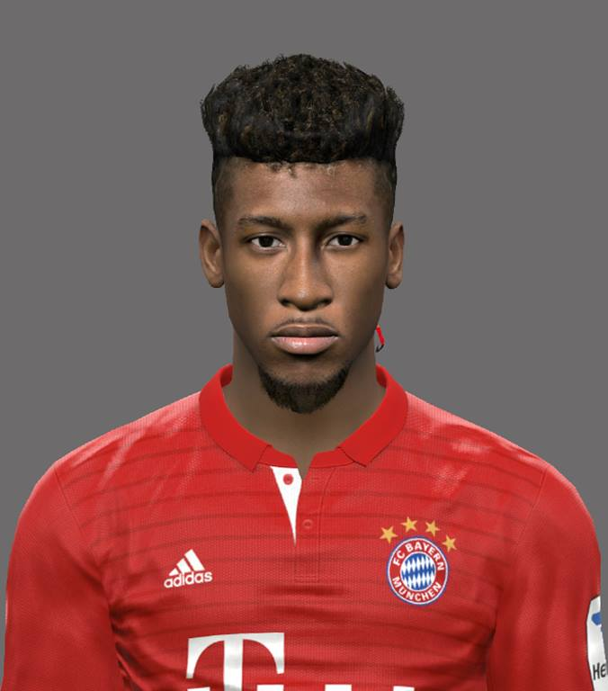 PES 2017 Kingsley Coman (Bayern Munich) Face by EmreT