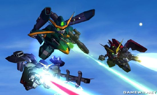 SD Gundam G Generation Wars - Download Game Nintendo Wii Free