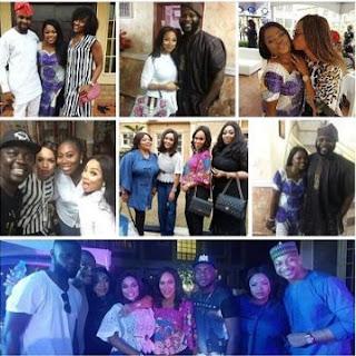 Kate Henshaw, Fathia Williams, Iyabo Ojo, Dayo Amusa, Seyilaw, others attend Funke Akindele's New Year Party
