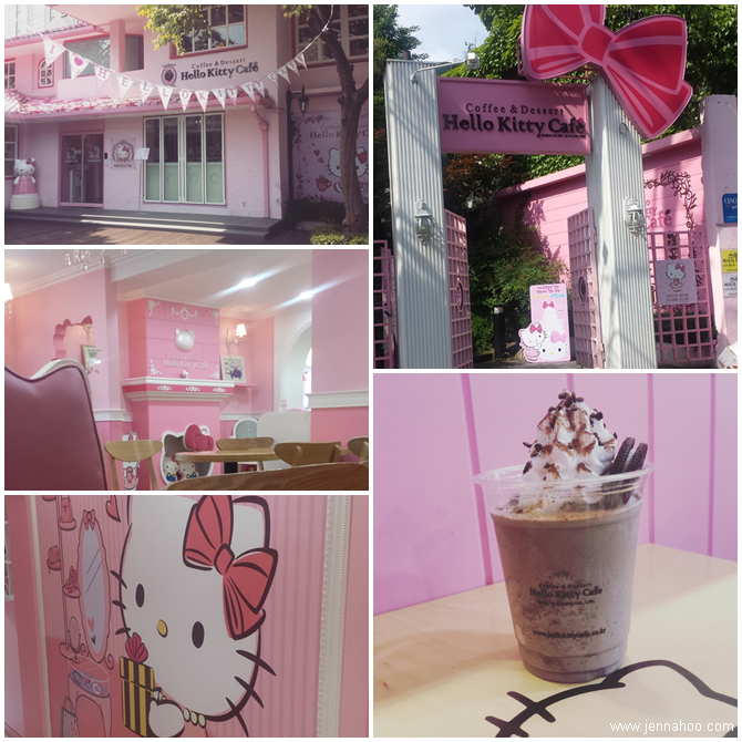 Hello Kitty Cafe in Hongdae