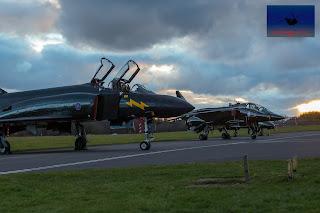 RAF McDonnell Douglas Phantom FGR.1 SEPECAT Jaguar Cosford