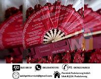 Souvenir Pernikahan Undangan Kipas Murah Padalarang Bandung
