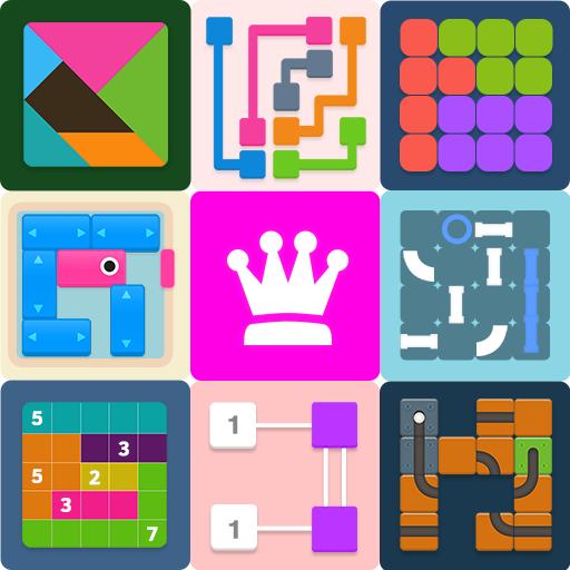 تحميل لعبة البازل الكلاسيكية Puzzledom مهكرة لأجهزة الاندرويد