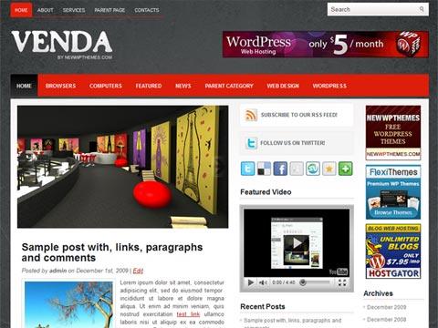 Venda Free WordPress Theme