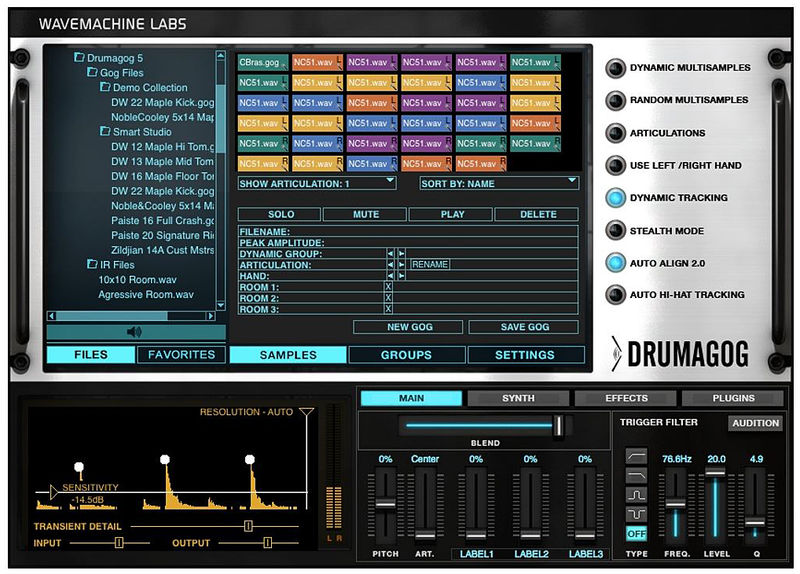 WaveMachine Labs - Drumagog 5 Platinum v5.21 + Factory Library