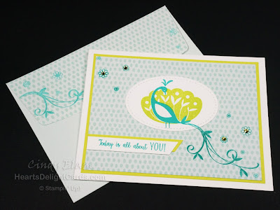Beautiful Peacock, SAB, Sale-A-Bration 2018, Stampin' Up!, Birthday,
