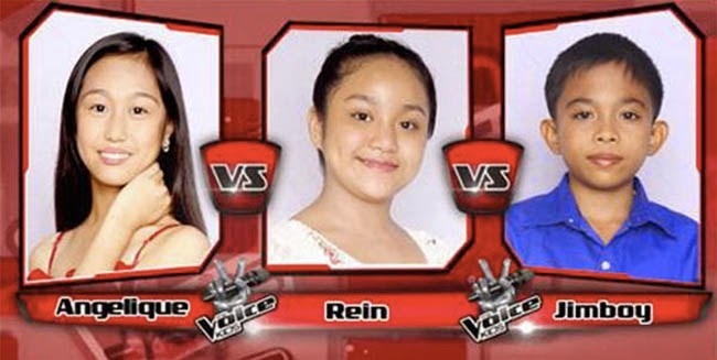 Jimboy Won Over Angelique and Rein on The Sing-offs for The Voice Kids Philippines