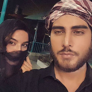 Hammad and emaan latest click of khuda and mohobat serial air on jeo.