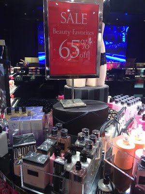 buy perfume during semi-annual sales at victoria secret and bath and body works