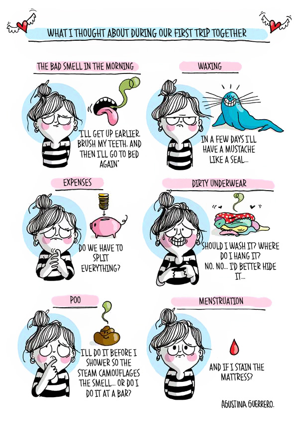 A Girl's Life Presented By 20 Funny Comics