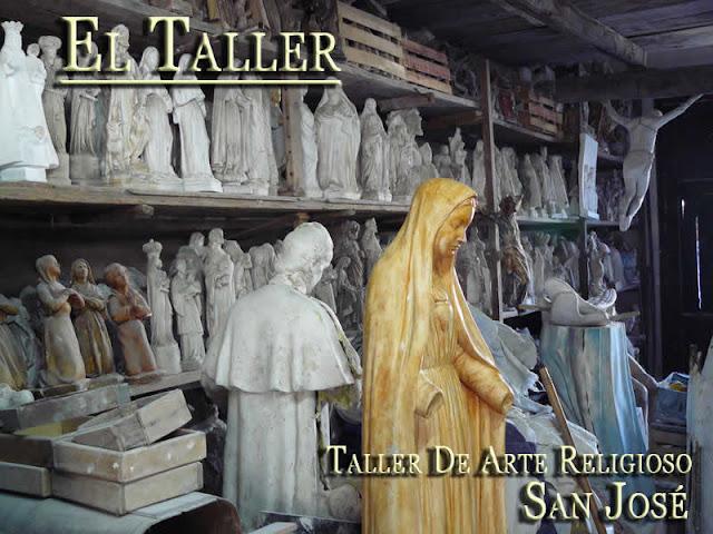 9e3ce85434f El Taller de Arte Religioso San José está dedicado a la fabricación