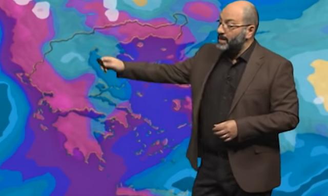 Σάκης Αρναούτογλου: Ψυχρή εισβολή μετά την Πρωτοχρονιά (βίντεο)
