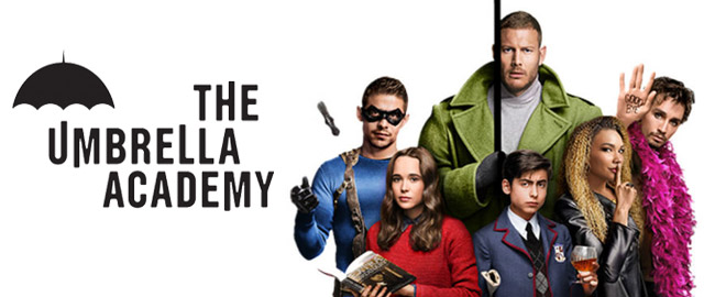 banner da série The Umbrella Academy