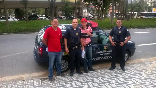 GCM de Santo André localiza jovem autista desaparecido em Diadema
