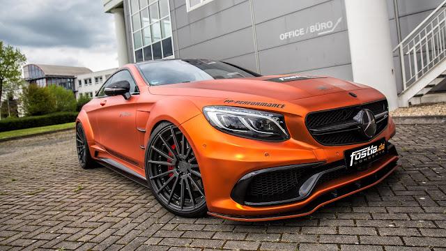 Prior Design Mercedes-AMG S63 Coupe by Fostla - #Prior #Design #Mercedes #AMG #S63 #Coupe #Fostla #tuning