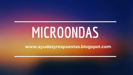 evaluacion nacional de microondas