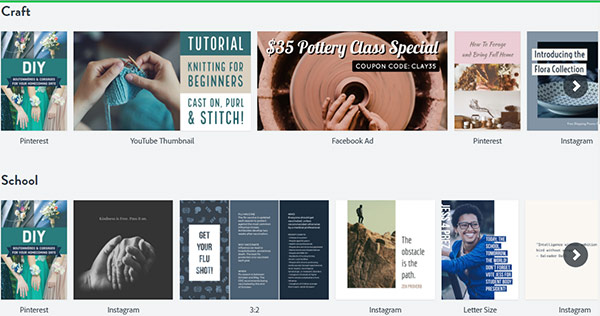 Adobe Spark Free Online Graphic Design App Designeasy