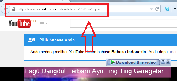 Cara Download Video Youtube 2015