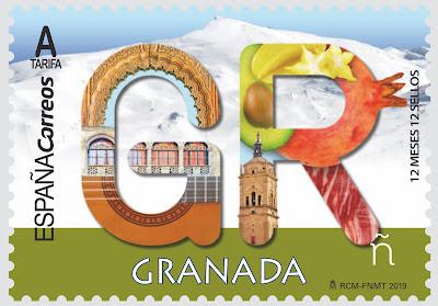 Granada - 12 meses, 12 sellos - 02 05 2019 - Sello