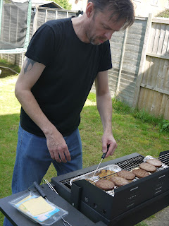 The first BBQ of the summer