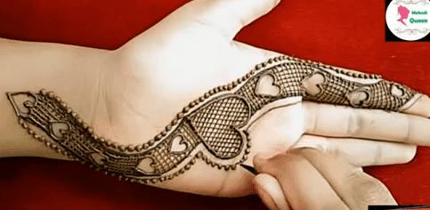 20+ Mehndi design easy and beautiful