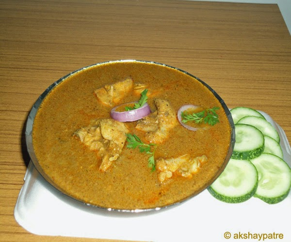 chicken shakuti ready to serve