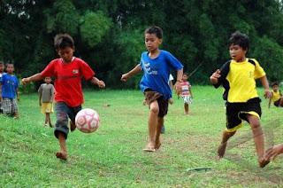 pengetahuan dasar sepak bola untuk anak sekolah dasar