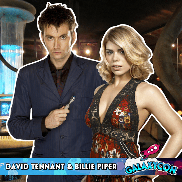 David Tennant - GalaxyCon Raleigh fan convention - Friday 26th, Saturday 27th and Sunday 28th July 2019
