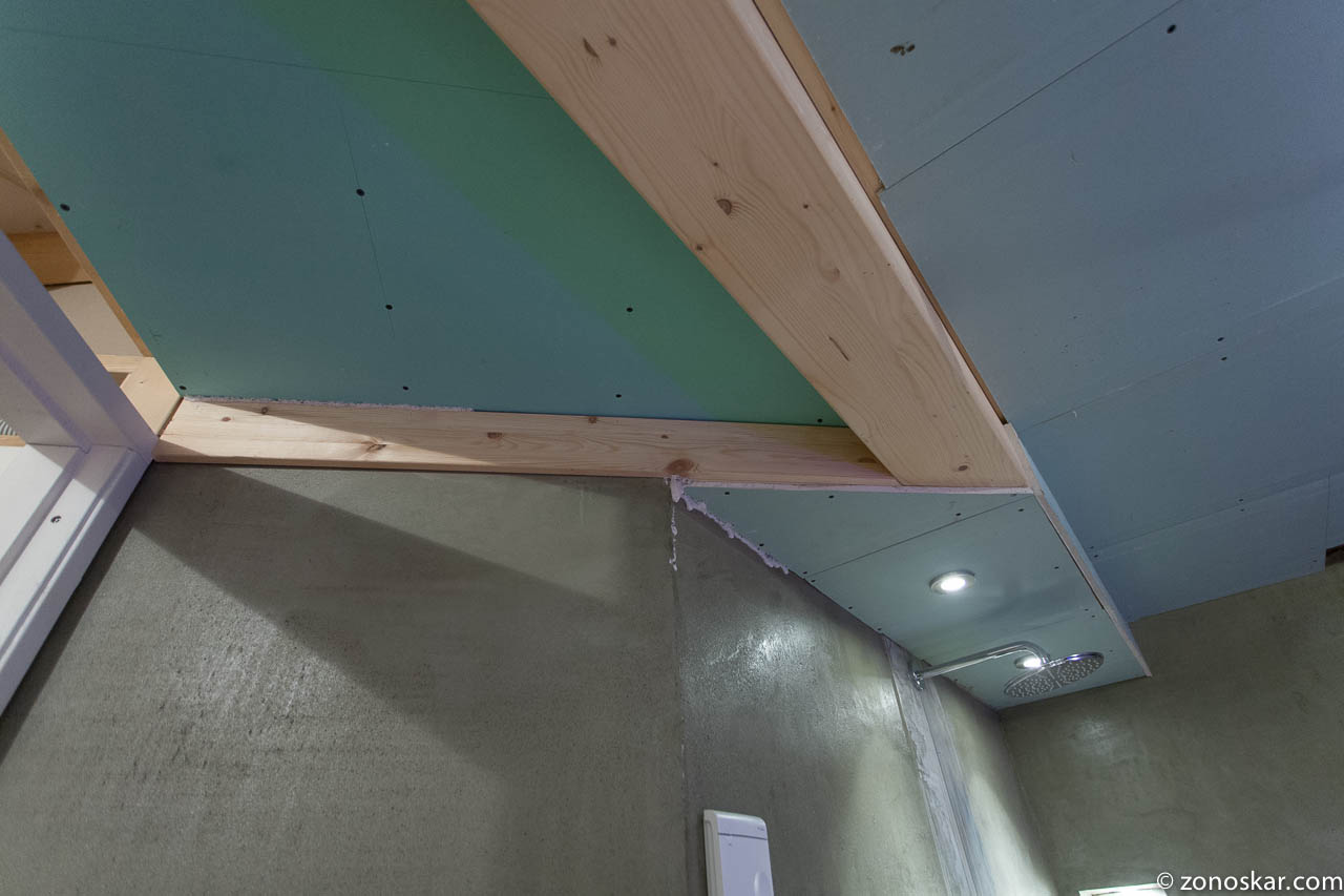 Badkamer Gipsplaat. Talentboard Groene Gipsplaat Stucplaten. Boven ...